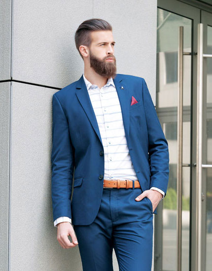 Mens Blue Formal Wear