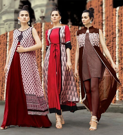 Layered Ethnic Kurta