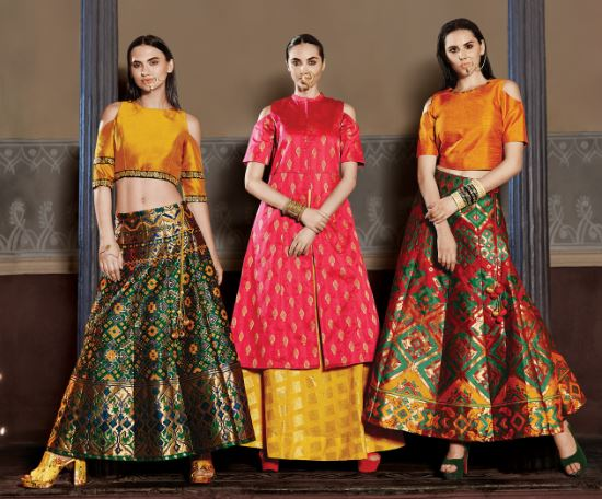 260900797b1f5a Over the last couple of years Ethnic skirts have made a scorching comeback  thanks to designers like Sabyasachi