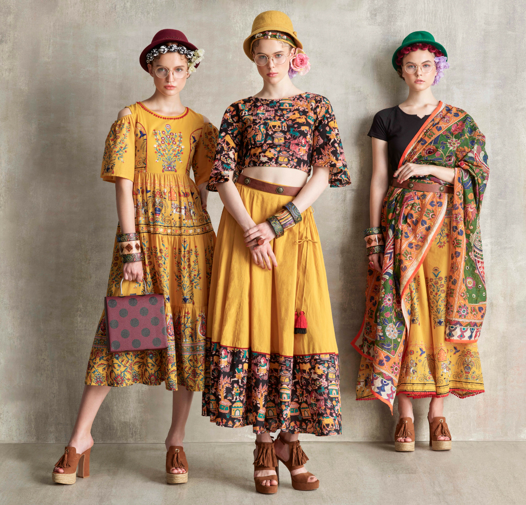 Mustard Yellow Women Collections